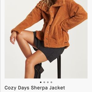 Cozy Days Sherpa Jacket